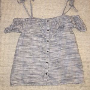 Lucky Brand off the shoulder shirt in size small